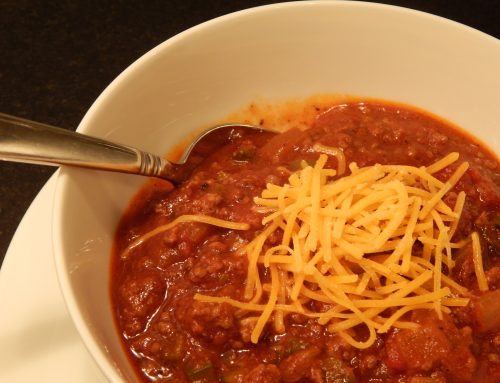 It's Chili Time…