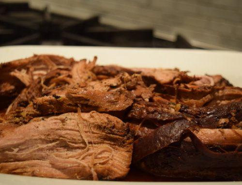 Balsamic Slow Cooker Pork Tenderloin