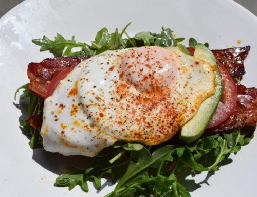 A Fancy Breakfast Sandwich